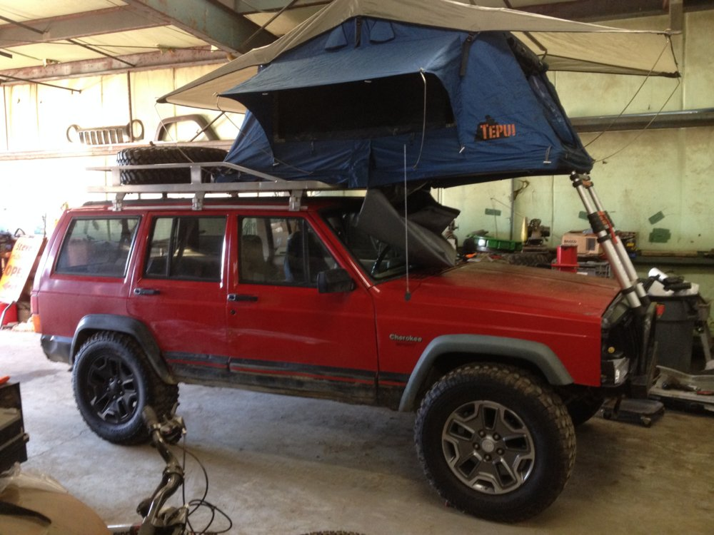 Exceptional Just Got Done Mounting A Tepui Roof Top Tent ( Craigslist Find ) On A  Hannibal Safari Equipment Roof Rack ( Another Craigslist Find ).