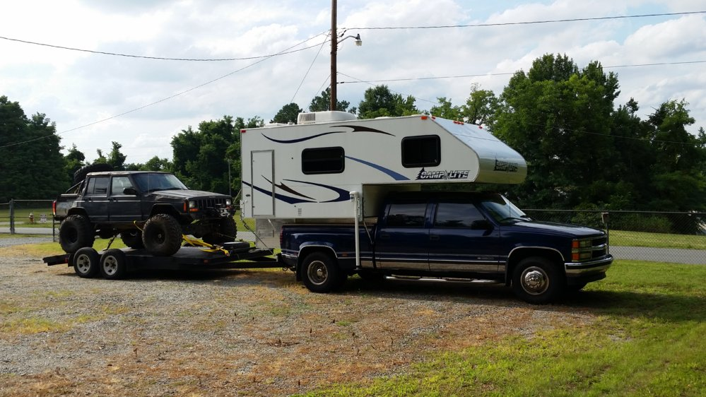 Gooseneck Camper Trailer Nc4x4