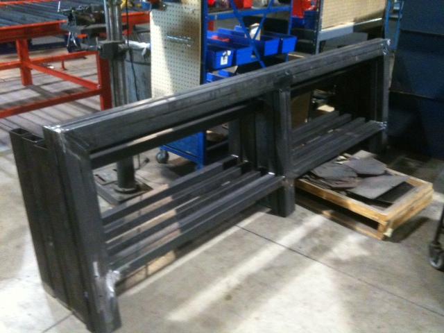 8'x20' Plasma CNC Table Build by