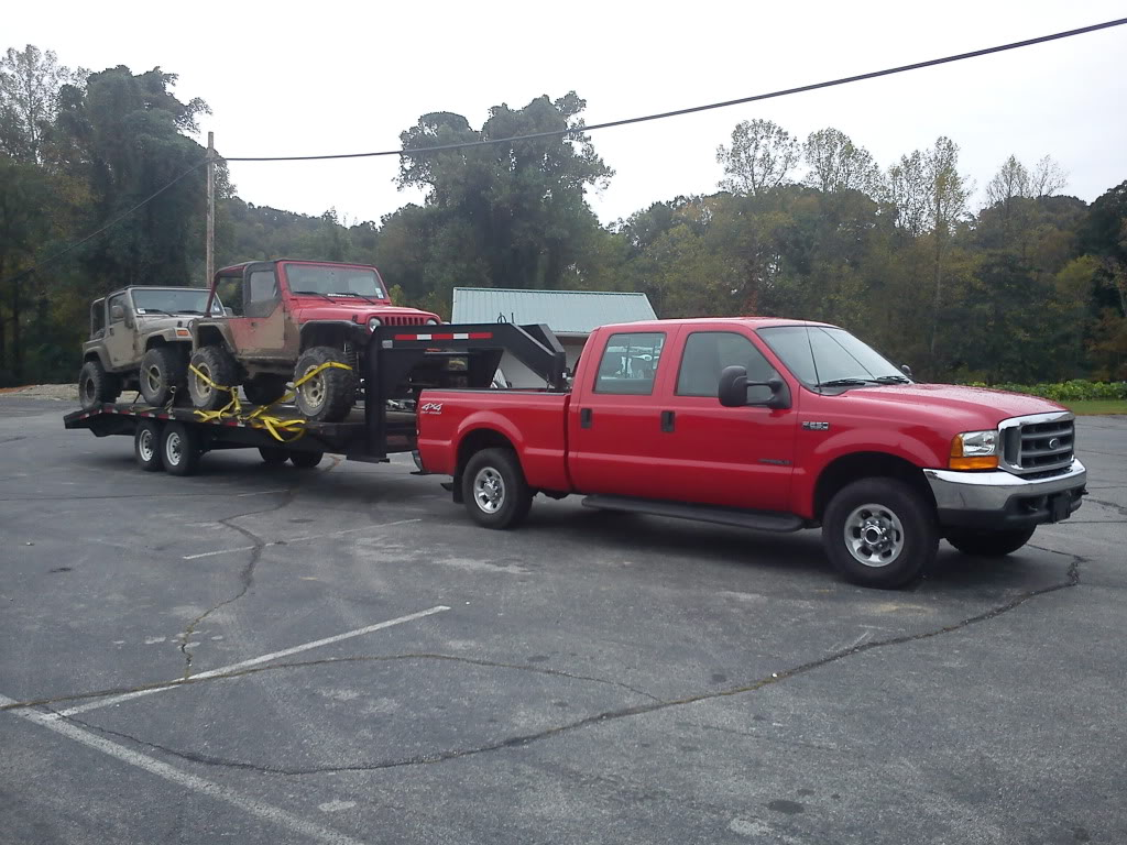 Towing Gooseneck And 2 Rigs Cars With Srw Nc4x4