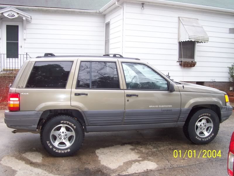 1998 jeep grand cherokee tire size