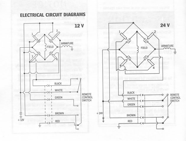 warn winch wiring diagrams nc4x4warn winch wiring diagrams