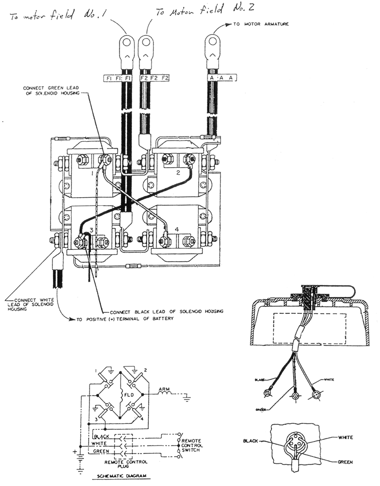 warn winch wiring diagrams nc4x4 rh nc4x4 com ATV Winch Wiring Diagram Electric Winch Wiring Diagram