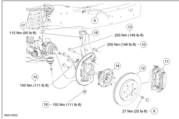 1979 f150 front axle diagram