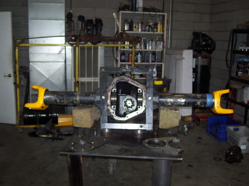 Dana 70 HD Rear Steer build at ECGS | NC4x4
