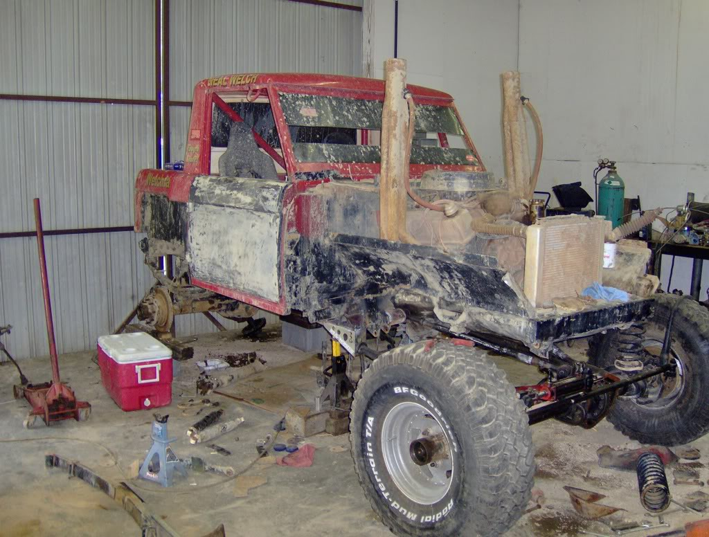 Early Bronco Mud Truck rebuilt again | NC4x4