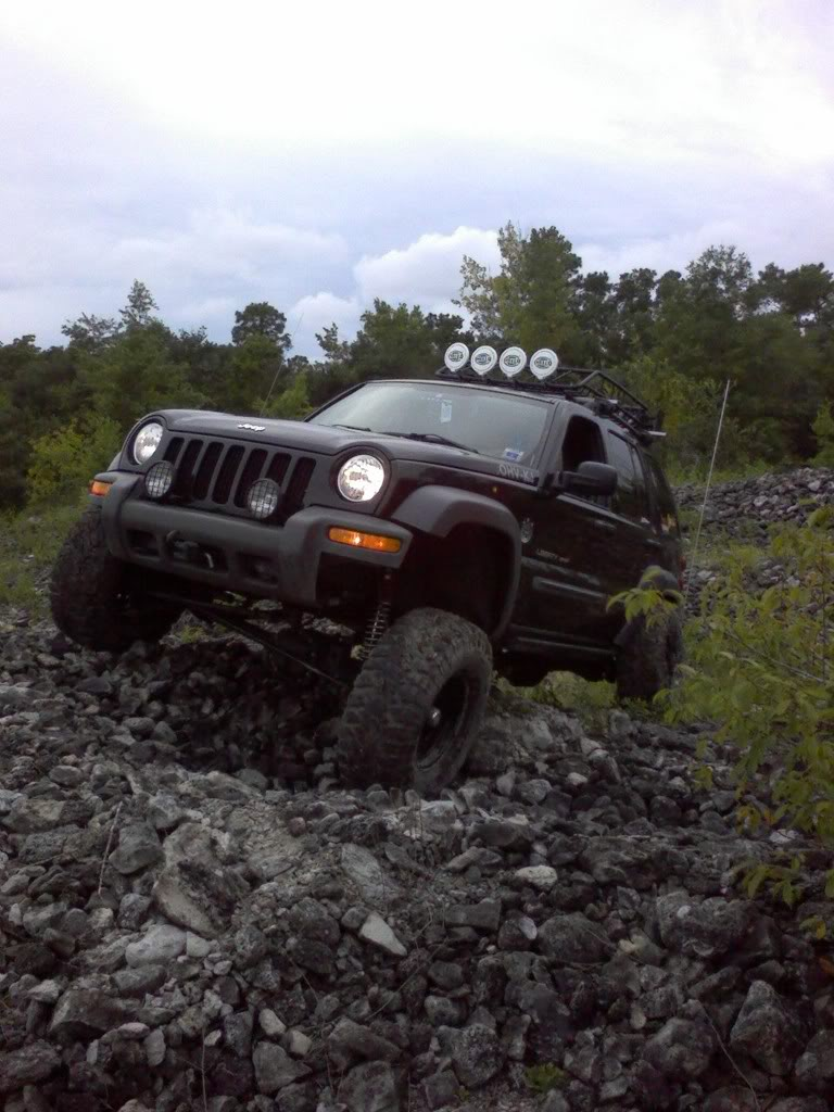 Straight Axle Jeep Liberty