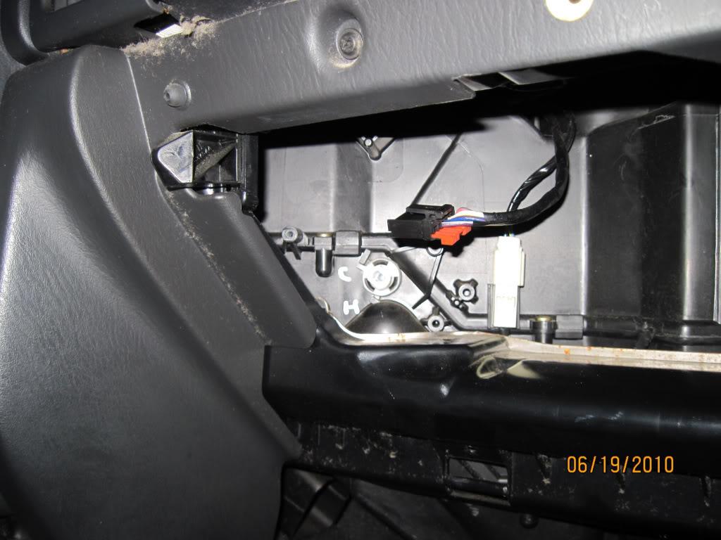 Replacing grand cherokee blend doors without removing for Jeep grand cherokee blend door actuator motor