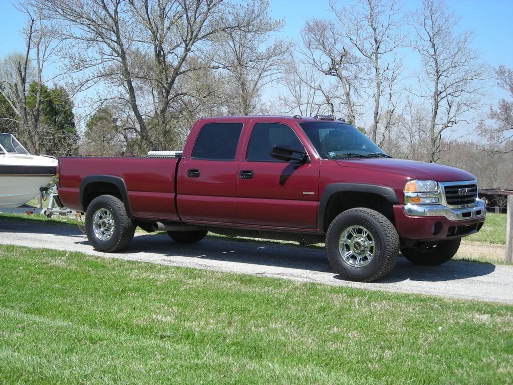 2005 Silverado 1500 >> Biggest tire that'll fit under 4x4 2500HD chevy? | NC4x4