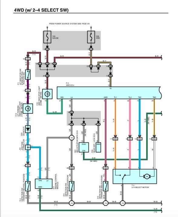 tacoma manual trans wiring help nc4x4