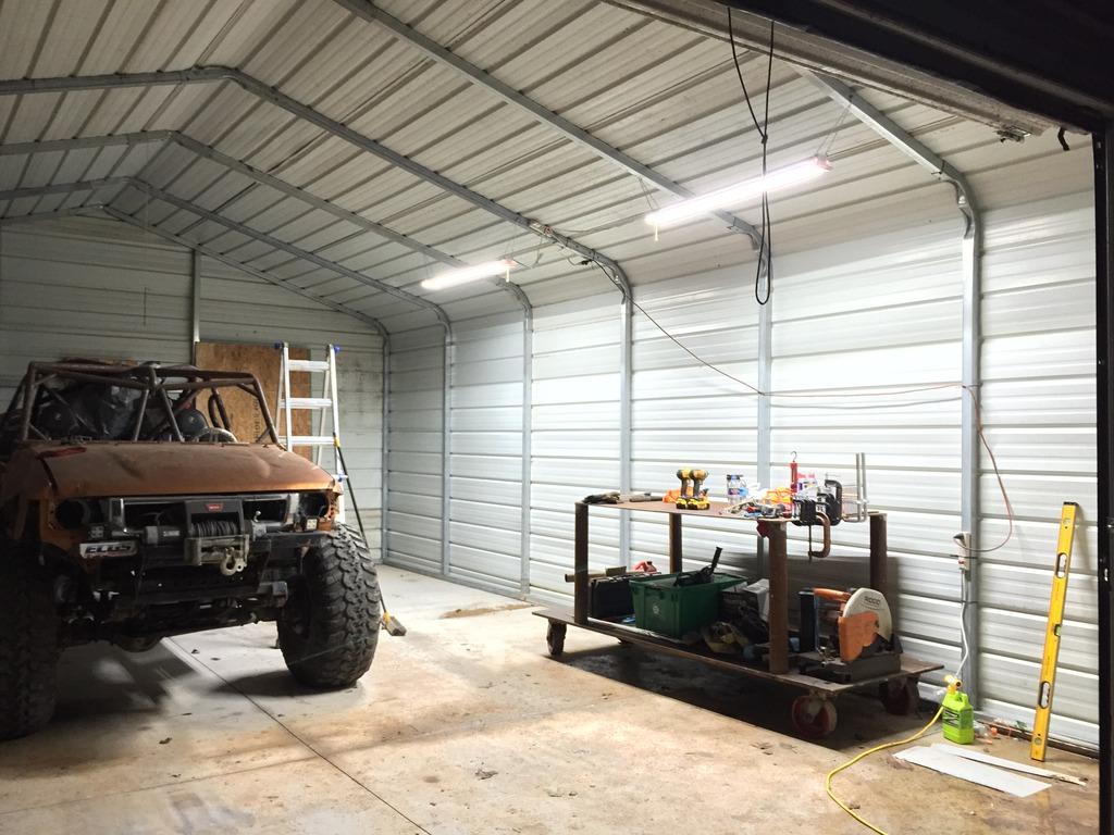20 By 20 Metal Insulated Garage : Metal garage sound control dampening nc