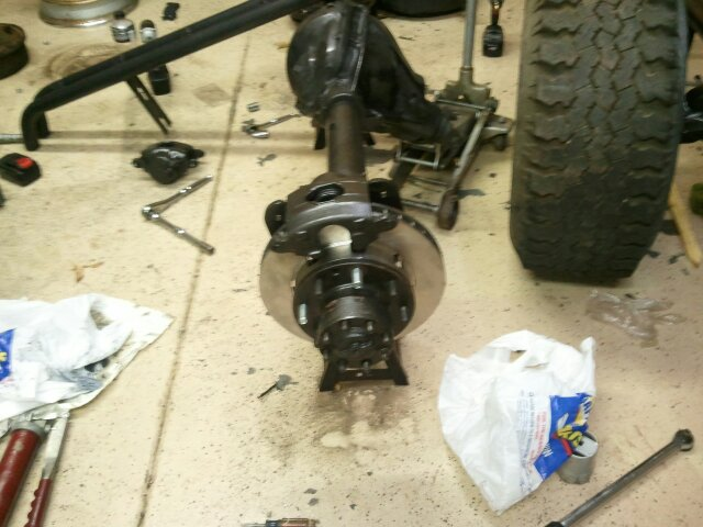 Cj axle swap to full size | NC4x4