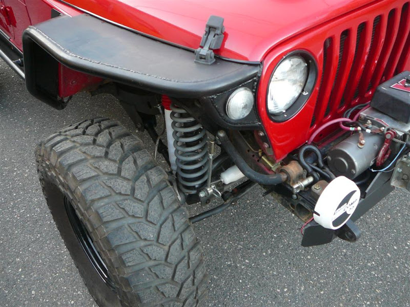 TJ tube fenders, what turn signals did you use?   NC4x4