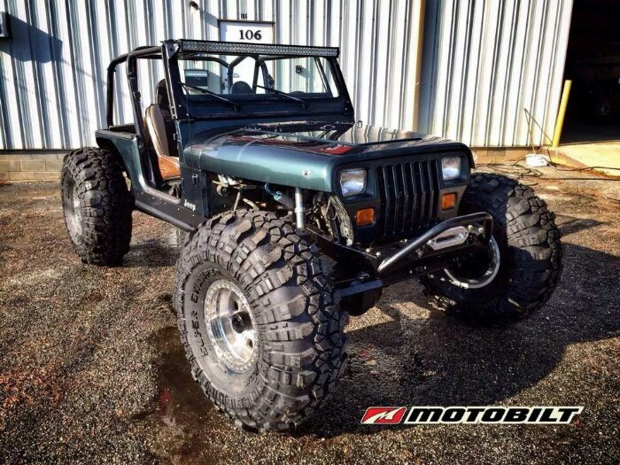 Jeep Dothan Al Sort of Old School Jeep YJ Build 4 link on KINGS | Page 2 ...