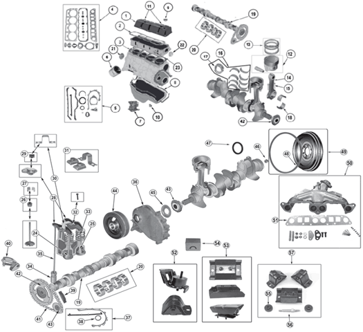 2 5l jeep engine hose diagram