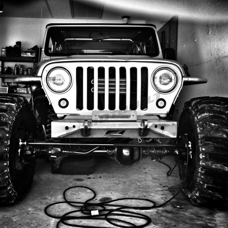 Jeep Wrangler Tj Build >> Stubby Jeep TJ / YJ Front Winch Bumper | NC4x4