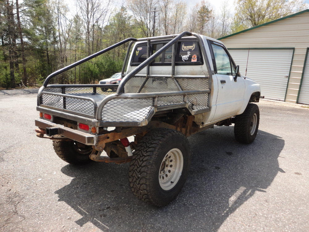 Toyota Of Hickory >> Toyota Flatbed | NC4x4