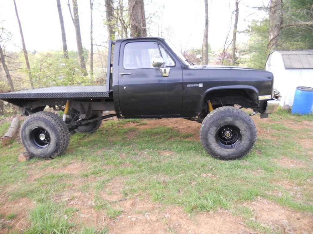 Image Gallery 86 Chevy Flatbed