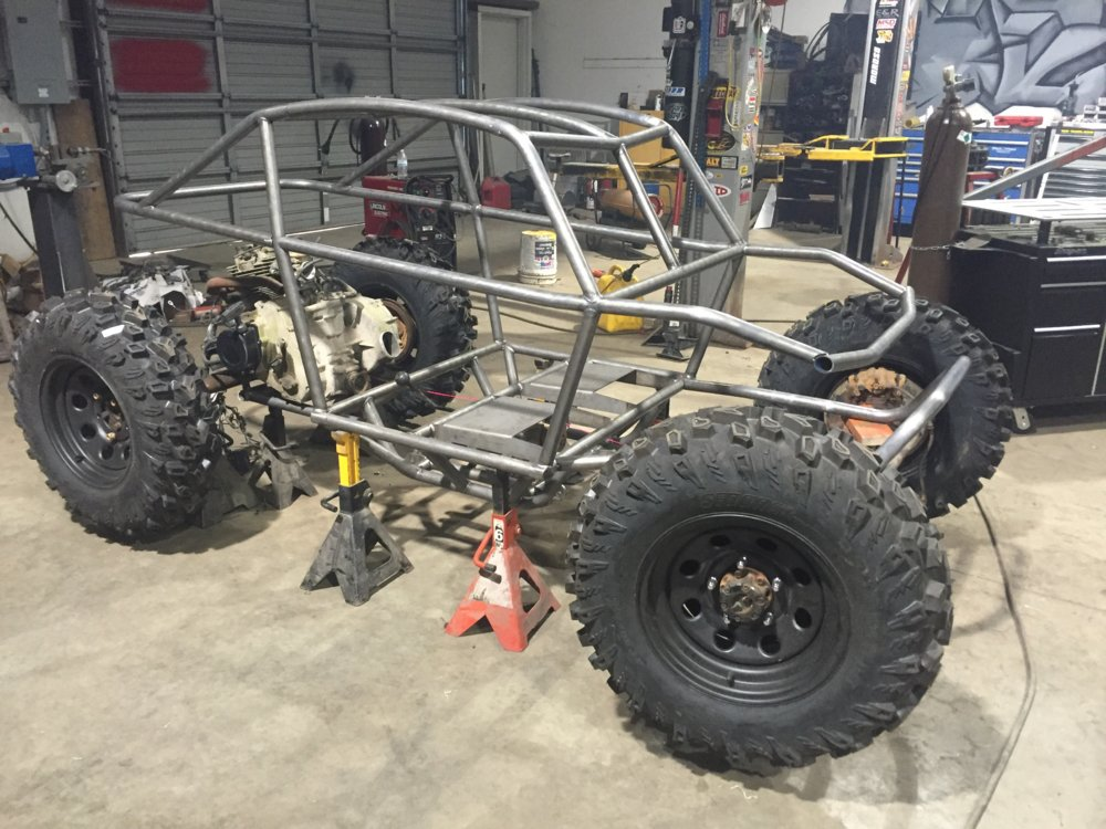 Lil' Smoke kid mini buggy rock crawler | NC4x4