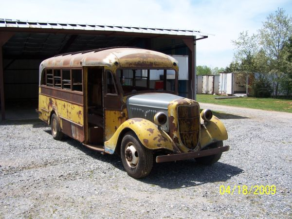 how to build a school bus